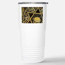 Damascene handicrafts, interlac Travel Mug