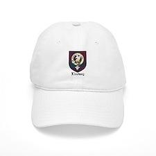 Lindsay Clan Crest Tartan Baseball Cap