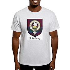 Lindsay Clan Crest Tartan T-Shirt
