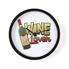 Wine Lover Wall Clock