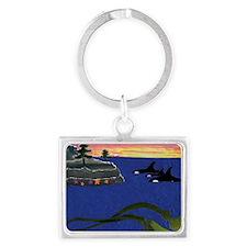 ORCASKELP Landscape Keychain