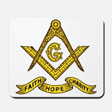 Faith Hope Charity Mousepad