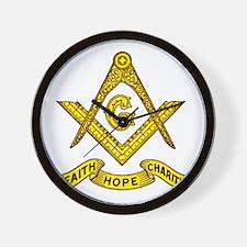 Faith Hope Charity Wall Clock