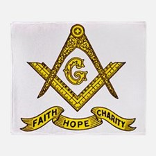 Faith Hope Charity Throw Blanket