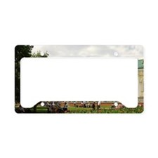 Russia. Moscow. Alexandrovsky License Plate Holder