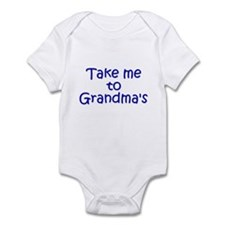 Take Me to Grandma's Infant Bodysuit