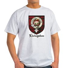 Livingston Clan Crest Tartan T-Shirt