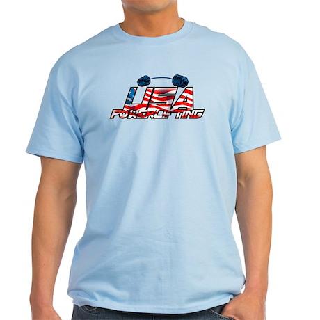 U.S.A POWERLIFTING Light T-Shirt