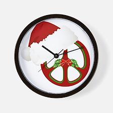 santa_peace_10  Wall Clock