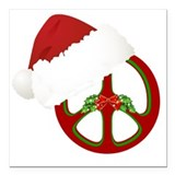Christmas Square Car Magnets