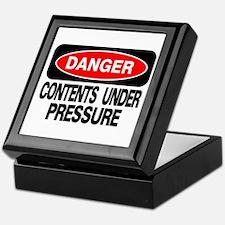 Contents Under Pressure Keepsake Box