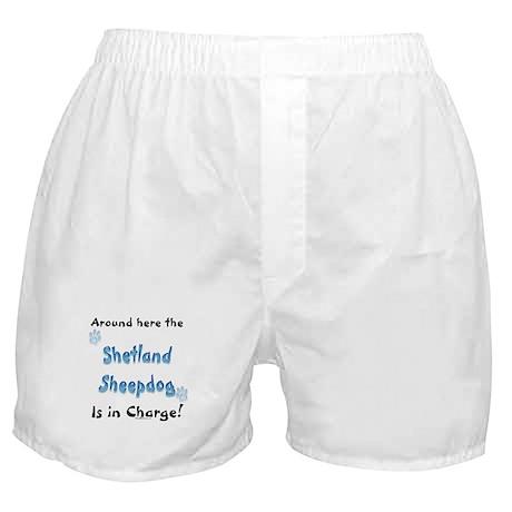 Sheltie Charge Boxer Shorts