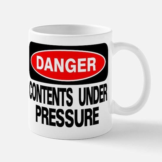 Contents Under Pressure Mug