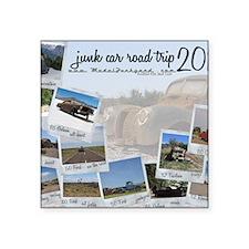 """Calendar - cover 2012 Square Sticker 3"""" x 3"""""""