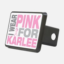 I-wear-pink-for-KARLEE Hitch Cover