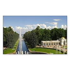 Russia. Petrodvorets. Peterhof Decal