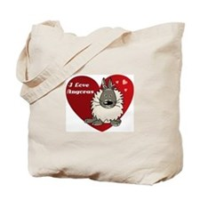 I love angora rabbits Tote Bag
