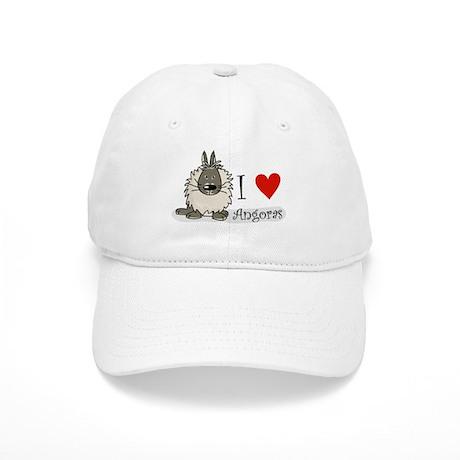 """I """"heart"""" angora rabbits Cap"""