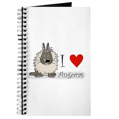"I ""heart"" angora rabbits Journal"