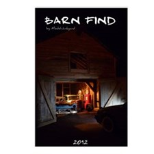 barn-find vertical calend Postcards (Package of 8)