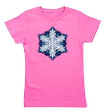 Snowflake Designs - 002 Girl's Tee