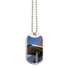 The Guggenheim Museum in the city of Bilb Dog Tags