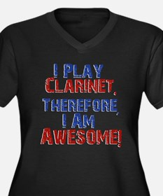 Clarinet Plus Size T-Shirt