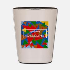 Happy Holidays! bJs 11 Shot Glass