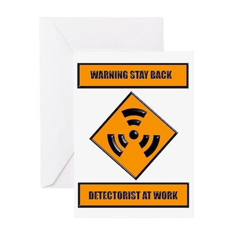 DETECT-WORK Greeting Card