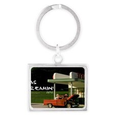 gas-dreamin-oversized-wall-cale Landscape Keychain