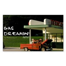 gas-dreamin-oversized-wall-cal Decal