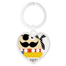 Captain Remy, the Pirate Heart Keychain