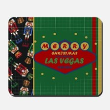 Las Vegas Christmas Card Mousepad