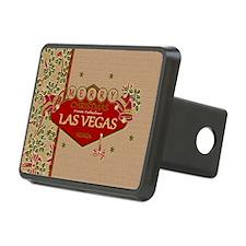 Las Vegas Christmas Card Hitch Cover
