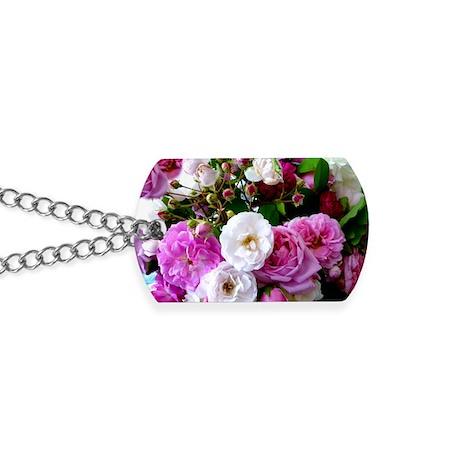 persian roses 6 Dog Tags