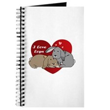 I love lop rabbits Journal
