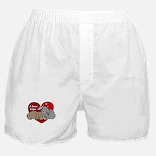 I love lop rabbits Boxer Shorts