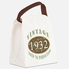 VinRetro1932 Canvas Lunch Bag