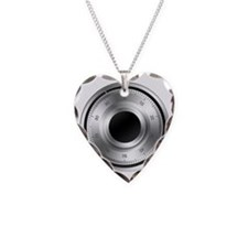 Combination-Lock Necklace Heart Charm