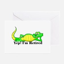 'Gator Gab.:-)' Greeting Cards (Pk of 10)
