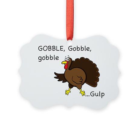 GobbleGulp Picture Ornament