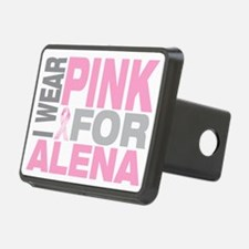 I-wear-pink-for-ALENA Hitch Cover