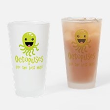 octopus1 Drinking Glass