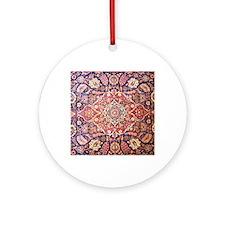persian carpet 1 Round Ornament