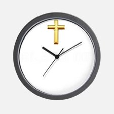 Class Of 2013 Cross White 1 Wall Clock