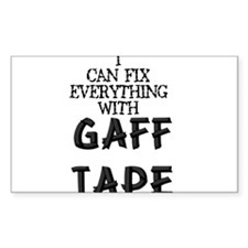 Gaff Tape Rectangle Decal