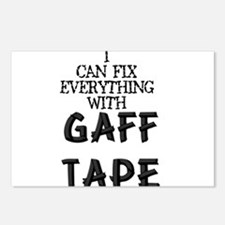 Gaff Tape Postcards (Package of 8)
