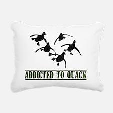 Quack-8x11L Rectangular Canvas Pillow