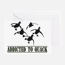 Quack-8x11L Greeting Card