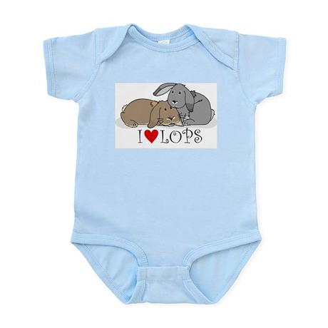 "I ""heart"" lops Infant Bodysuit"
